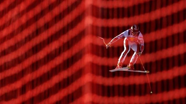 Skirennstrecke Streif bei Kitzbühel