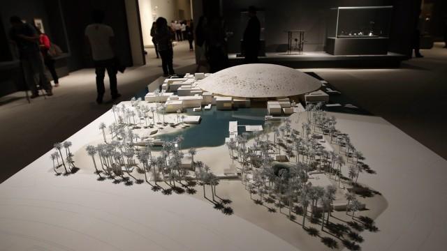 Abu Dhabi Louvre arts exhibition in Abu Dhabi