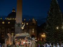 Vor Christmette in Rom