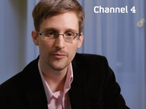 Edward Snowden Weihnachten auf Channel 4