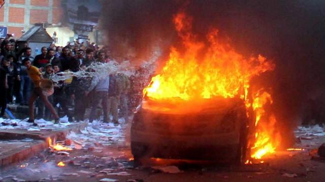 Selbstmordanschlag auf ein Polizeigebäude in Ägypten