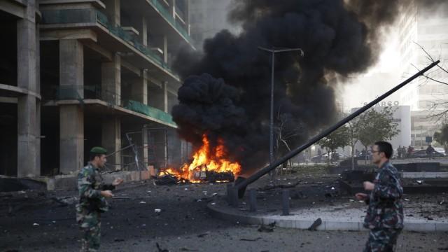Schwere Explosion in Beirut