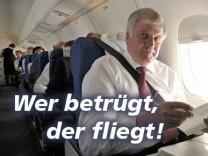 Horst Seehofer CSU Storify Ausländergesetz Wer betrügt der fliegt