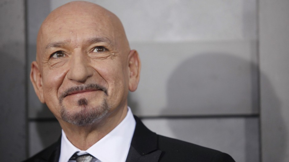 Cast member Ben Kingsley arrives at the premiere of the movie 'Shutter Island' in New York
