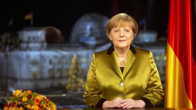 Neujahrsansprache Merkel