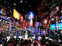New Year Celebration in New York's Times Square USA