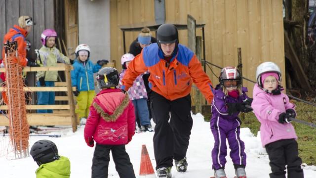 Wintersport Anhaltender Schneemangel