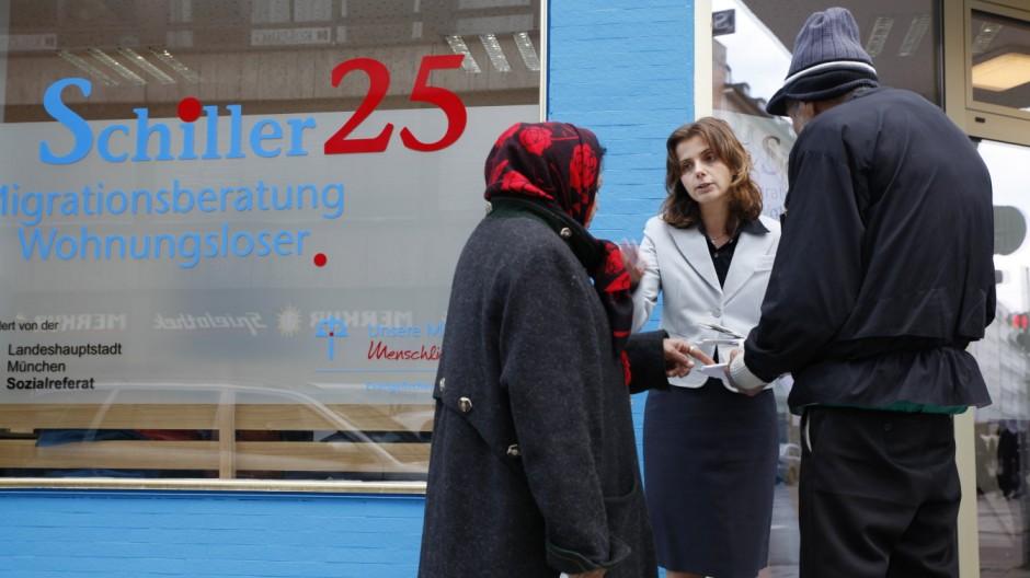 Arbeitnehmerfreizügigkeit Bulgaren und Rumänen in München