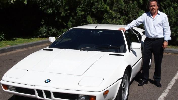 Alejandro Novak und sein BMW M1