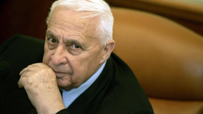 Ex Regierungschef Ariel Scharon