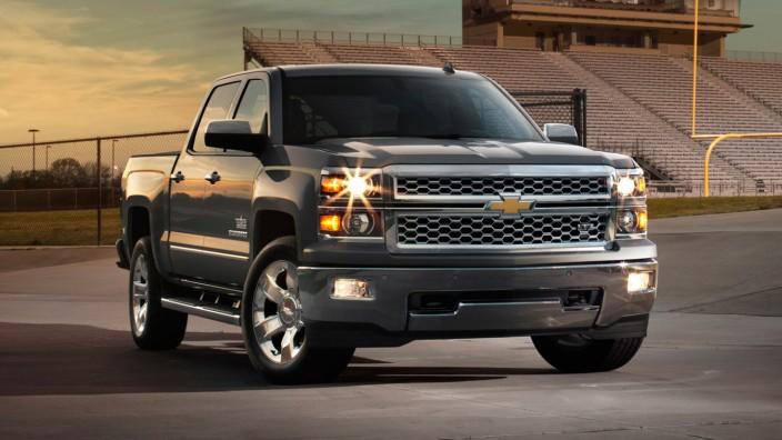Der Chevrolet Silverado Pick-up