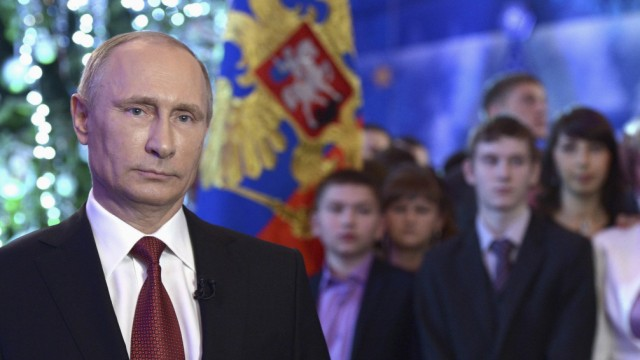 Russian President Putin makes his annual New Year address to the nation in the far eastern city of Khabarovsk