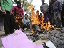 BANGLADESH ELCTION VIOLENCE