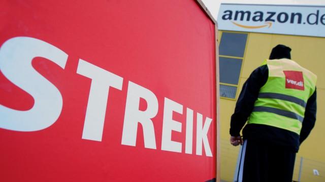 Amazon-Beschäftigte in Leipzig weiter im Streik