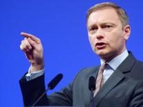 FDP Dreikönigstreffen Christian Lindner