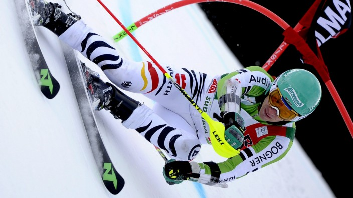 Alpine skiing World Cup Giant Salom