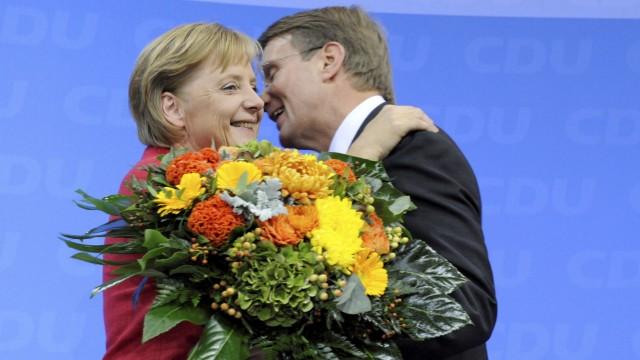 Angela Merkel und Ronald Pofalla