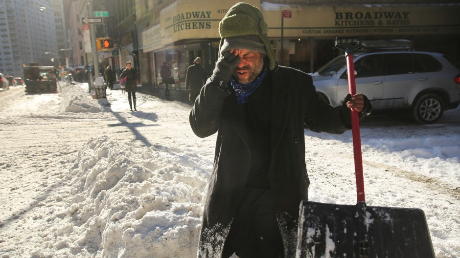 Winter Snow Storm Hammers Northeastern U.S.