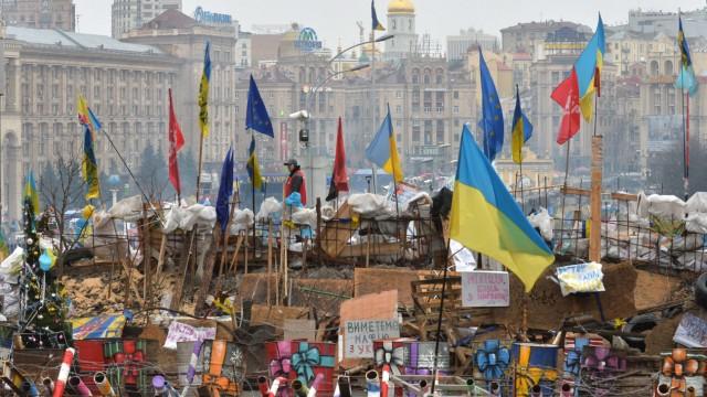 Proteste in der Ukraine Ukraine zwischen Europa und Russland