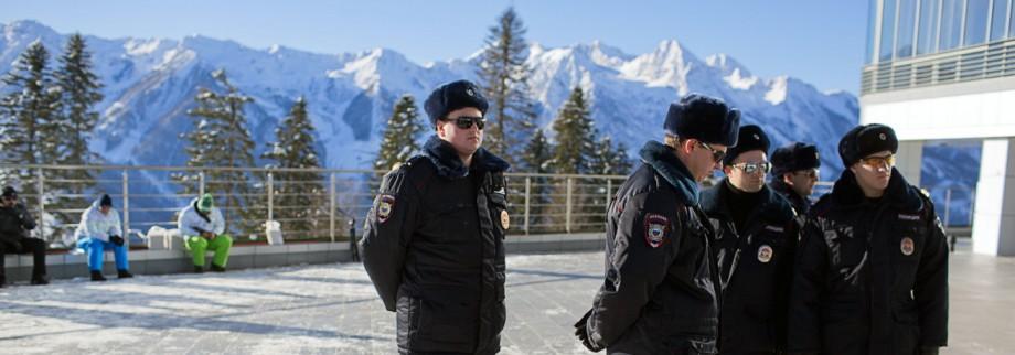 Sotschi 2014 - Sicherheit