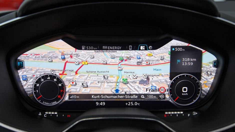 Armaturen auto  Audi TT: Audi ersetzt traditionelle Armaturen durch Display - Auto ...