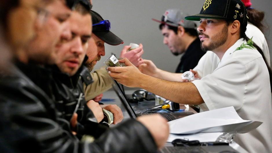 Marihuana Freigabe von Marihuana in den USA