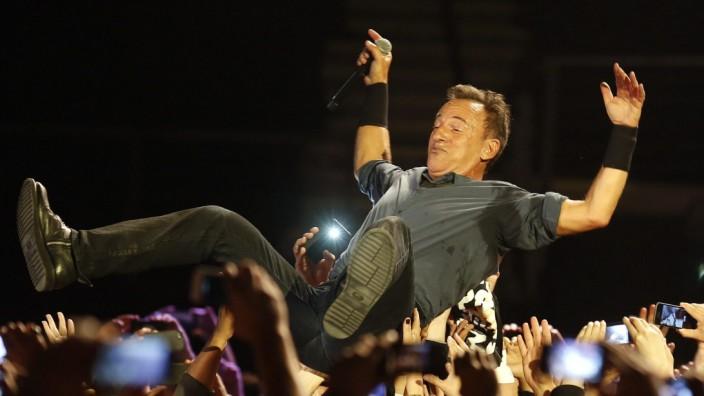 Bruce Springsteen In Santiago De Chile