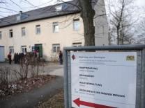 Unterkunft für unbegleitete minderjährige Flüchtlinge in der Bayernkaserne in München, 2013