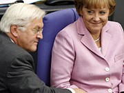 Kanzlerin Angela Merkel Frank-Walter Steinmeier dpa