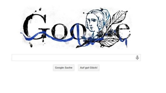 Annette von Droste-Hülshoff, Google Doodle