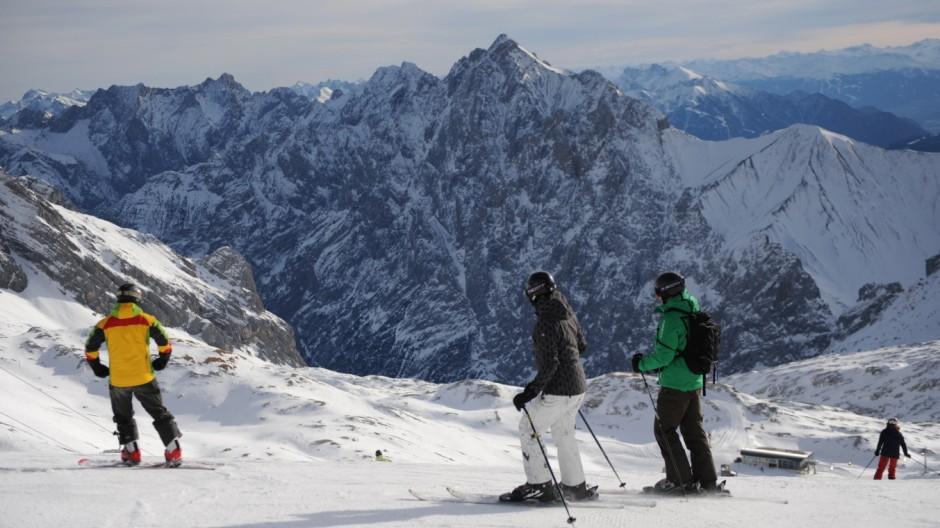 Winter in Bayern Skifahren in Bayern