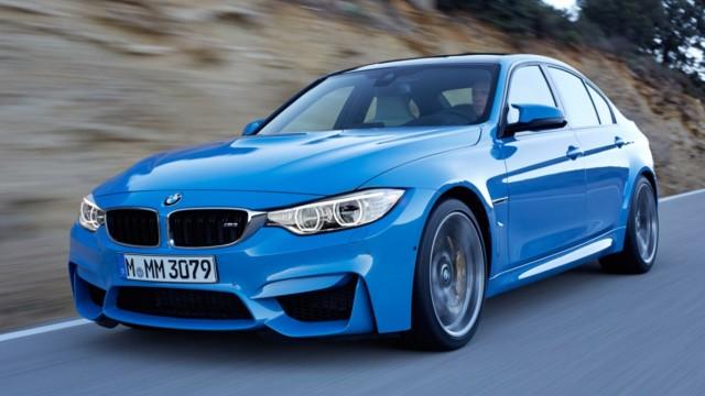 Der neue BMW M3 feiert auf der NAIAS 2014 sein Debüt.