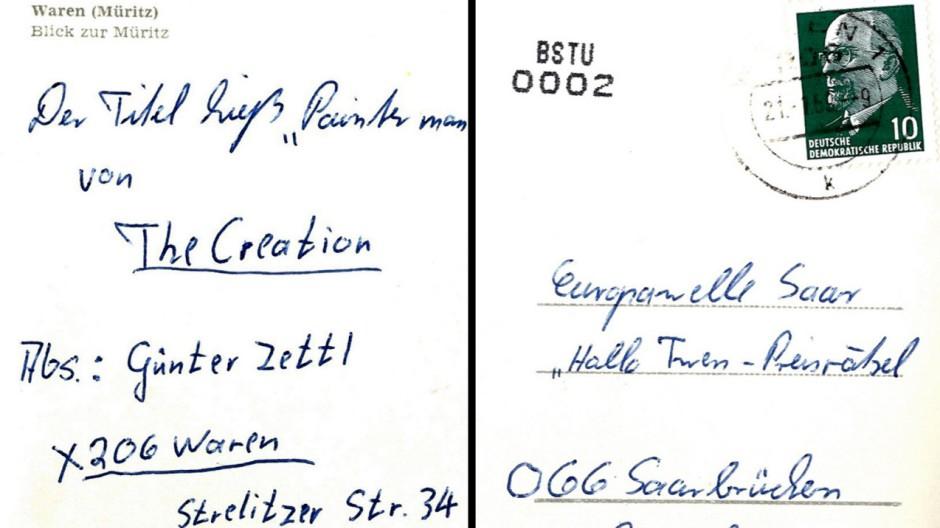 DDR-Postkarte taucht nach 44 Jahren auf