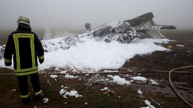 Vier Tote bei Flugzeugabsturz bei Trier