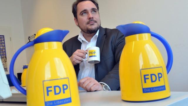 Daniel Föst, Vorsitzender der Münchner FDP, 2012