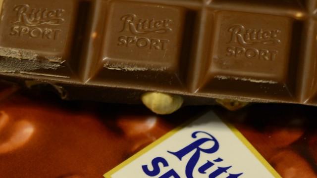 Ritter-Sport-Schokolade