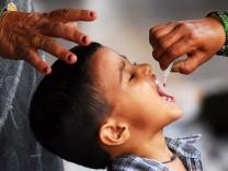 Polioimpfung in Indien