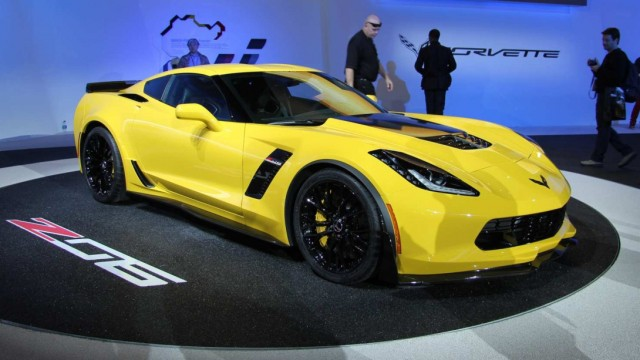 Die neue Corvette Z06 debütiert auf der NAIAS Detroit 2014.