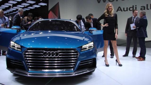 Der Audi allroad Shooting Brake auf der NAIAS Detroit 2014.