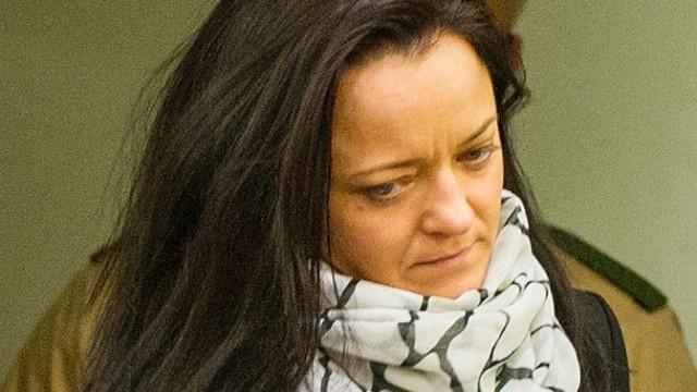 NSU-Prozess Angeklagte Beate Zschäpe