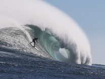 Big wave surfing in Cape Town, South Africa