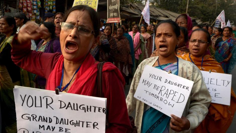 Vergewaltigung in Indien Vergewaltigung in Indien