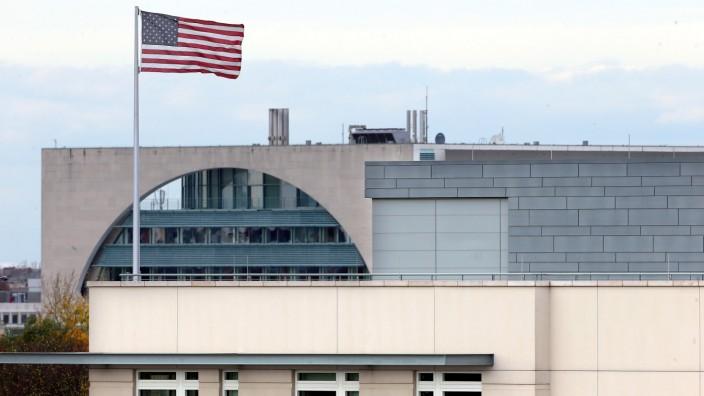 US-Botschaft mit Bundeskanzleramt