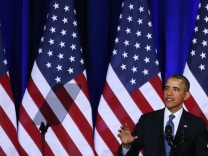 President Obama Delivers Speech On U.S. Signals Intelligence Programs