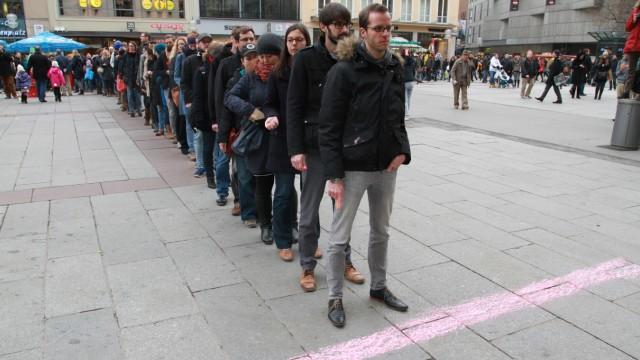 Lehrer in Bayern Protest der Referendare