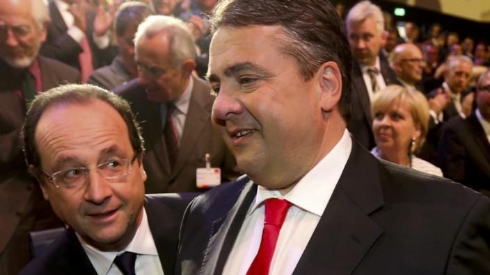 Hollande Gabriel Sozialdemokratie