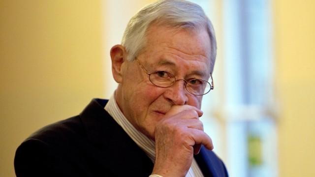 """Steuerprozess gegen Ex-´Zeit""""-Chefredakteur Theo Sommer"""