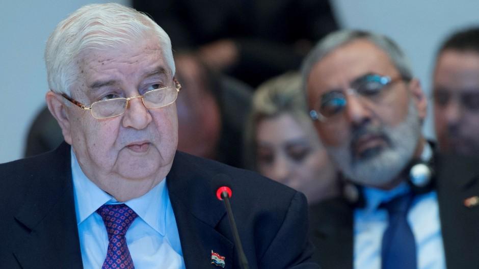 Syrien Syrien-Friedenskonferenz in Montreux