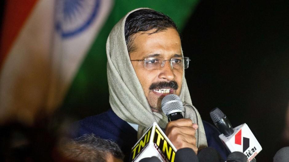 Indiens Polit-Aufsteiger Arvind Kejriwal
