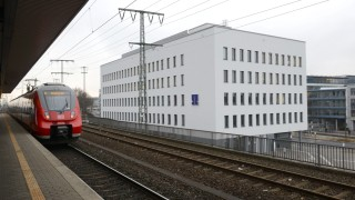 Neues TH Gebäude am Dürenhoftunnel in Nürnberg